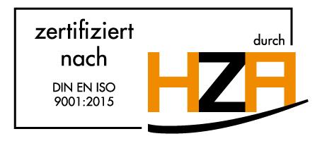 NET AG professional services - DIN EN ISO 9001:2015 zertifiziert